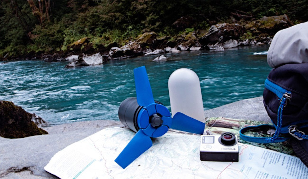 Estream Portable Water Power Generator