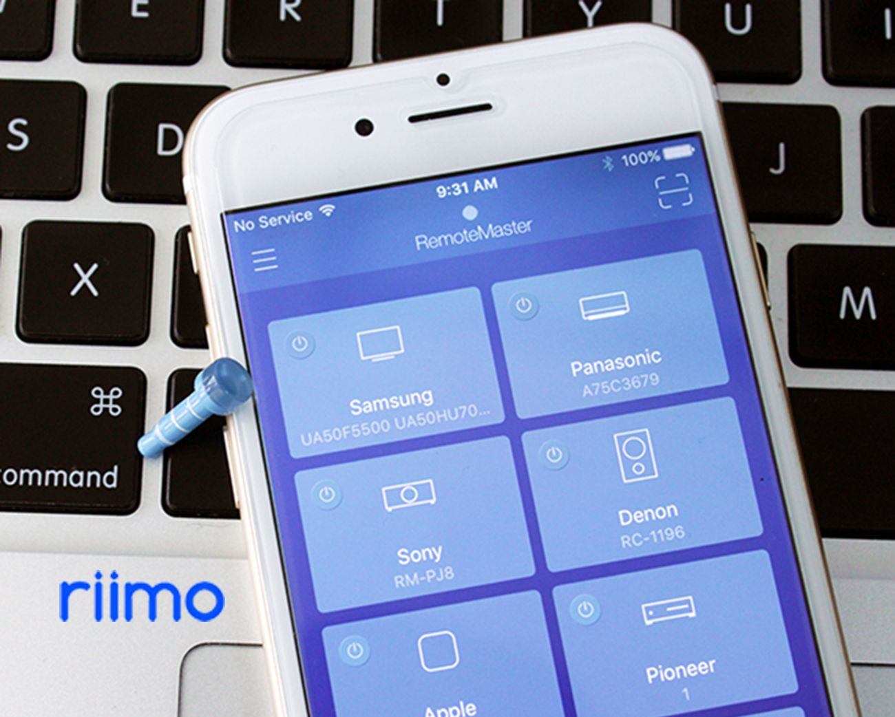 riimo – Ultrasmall IR Smart Remote for any devices