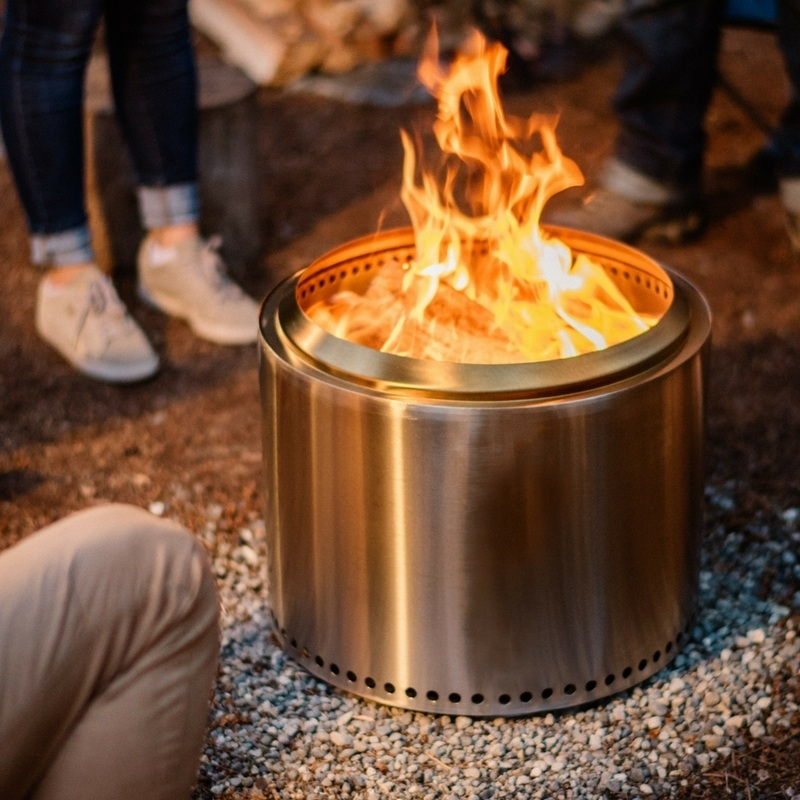 Solo Stove Bonfire Provides a Safe Fire Anywhere