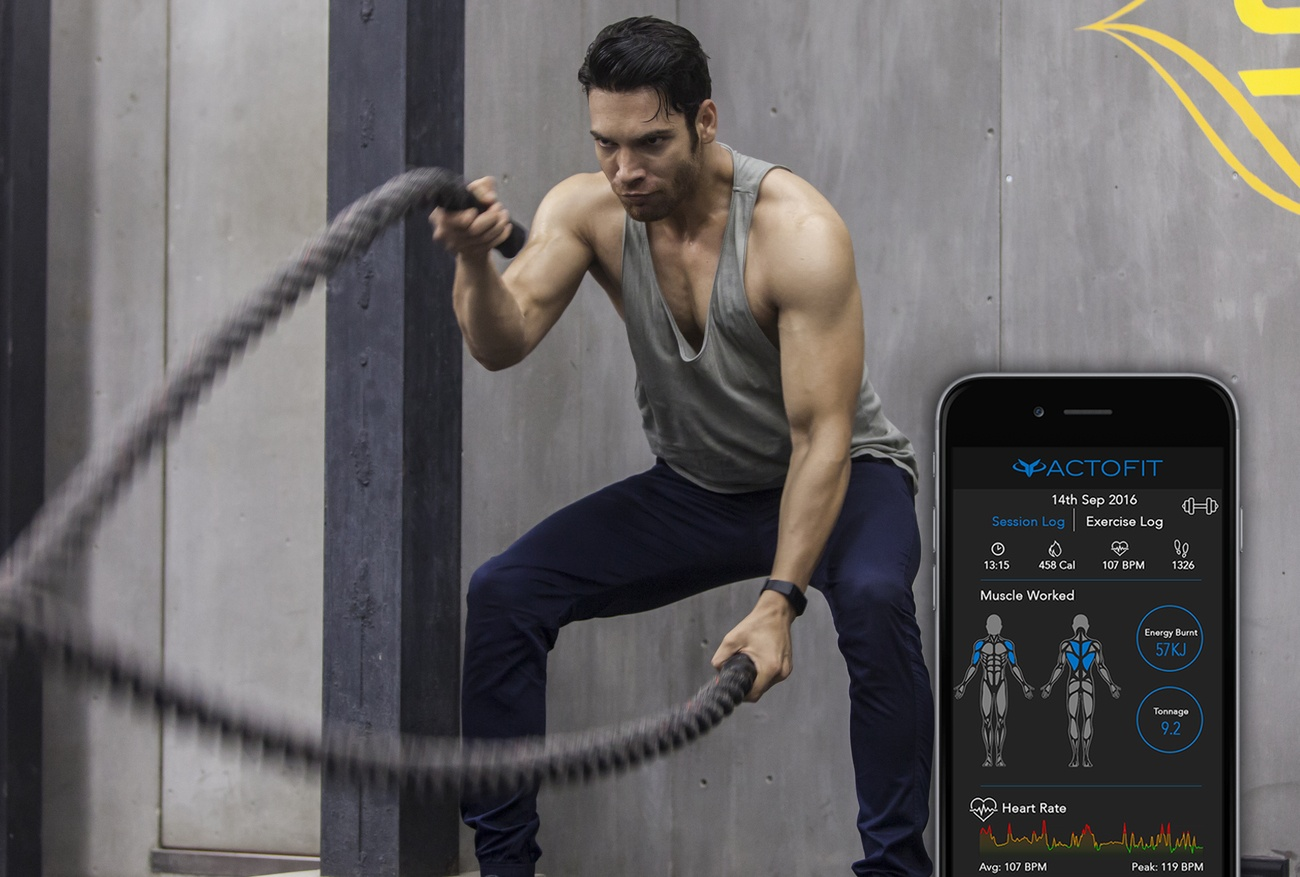 Actofit – The Perfect Workout Wearable