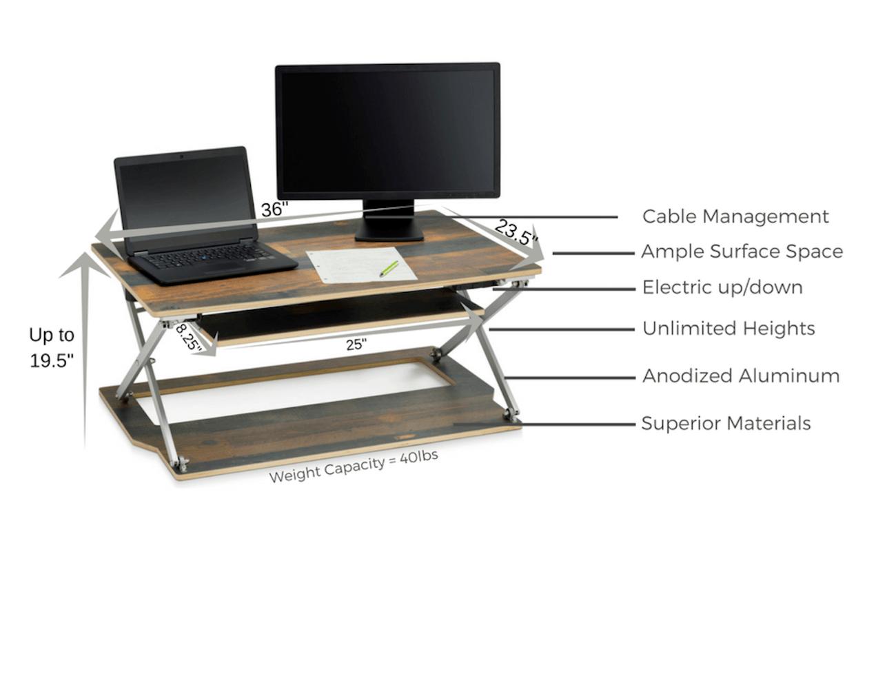 Attollo Height Adjule Desk