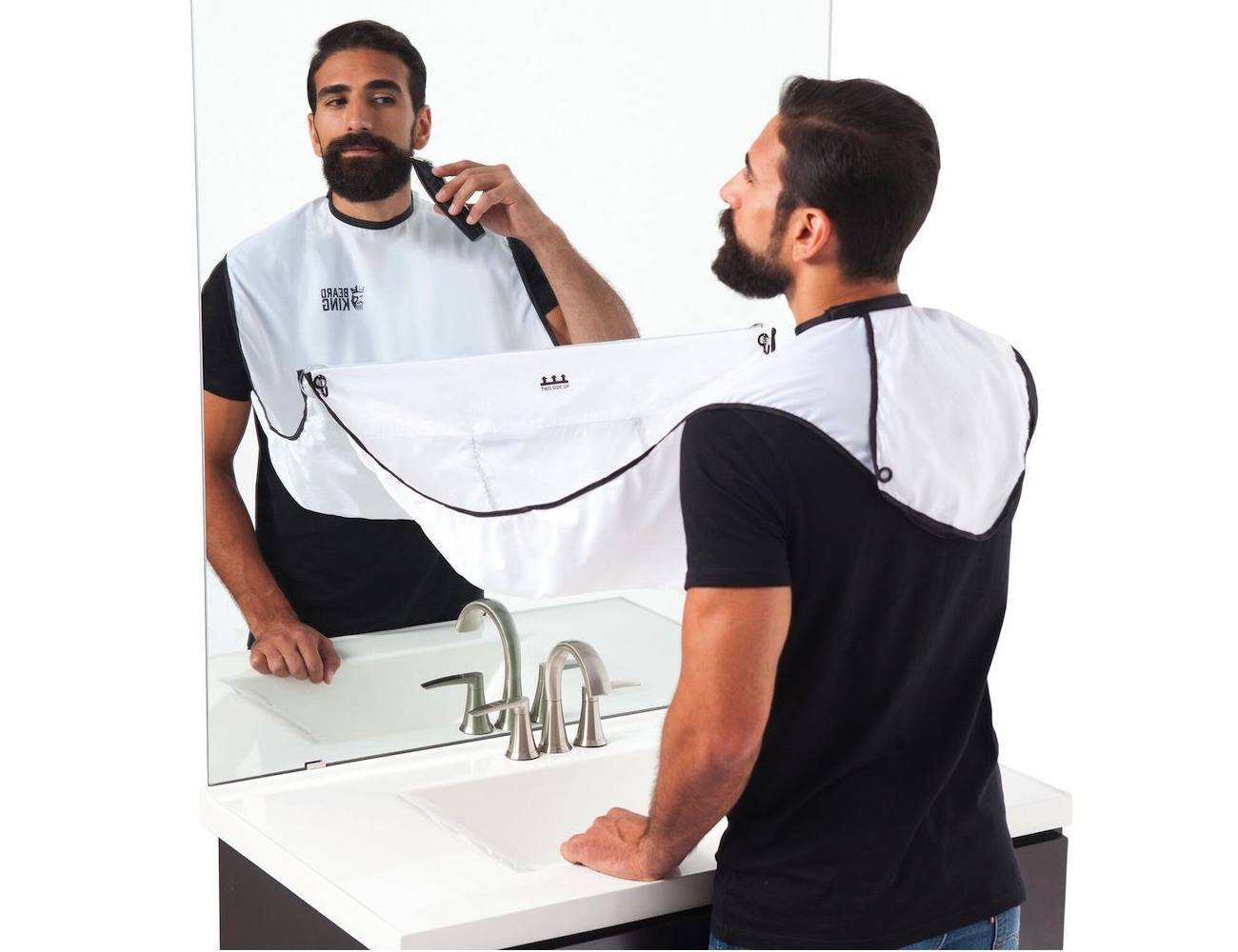 BEARD BIB – Hair Clippings Catcher