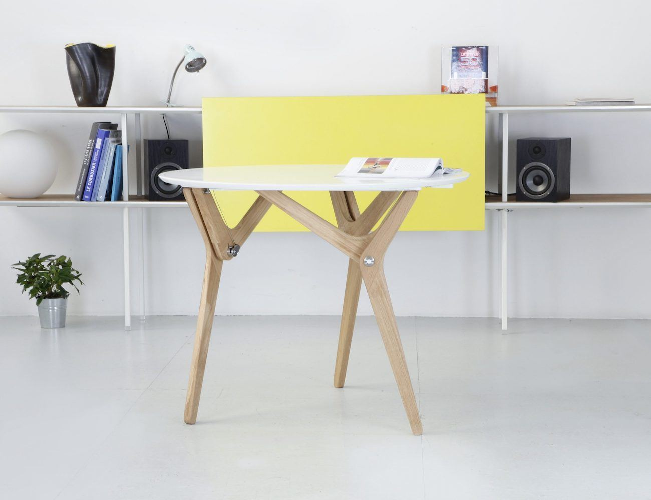 Boulon blanc transformable table gadget flow - Transformable coffee table ...