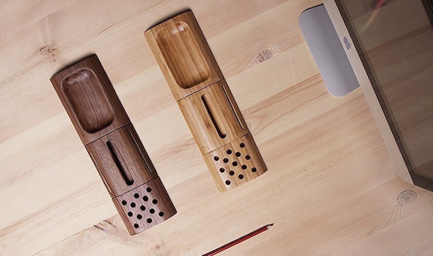 Bamboo+Organizer+Block