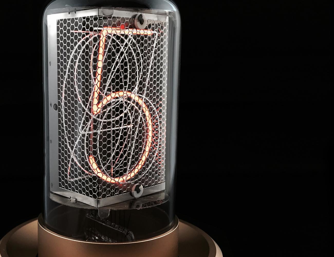 Blub Keo 'Nixie' Tube Clock