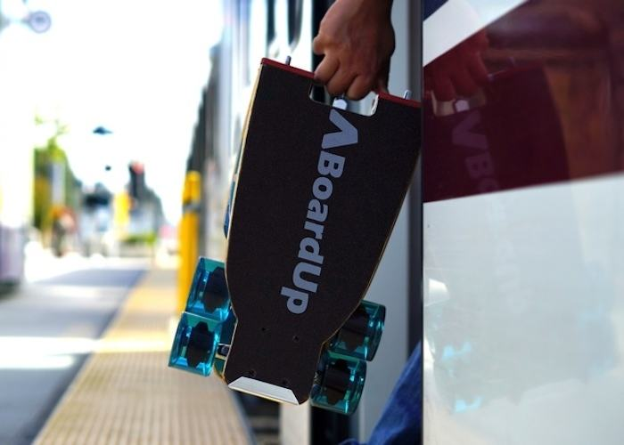 BoardUp – The World's First Self-Folding Longboard