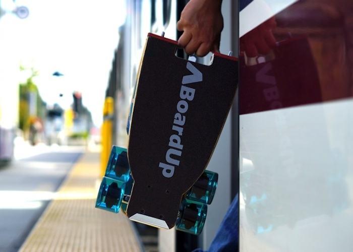 BoardUp – The World's First Self-Folding Longboard