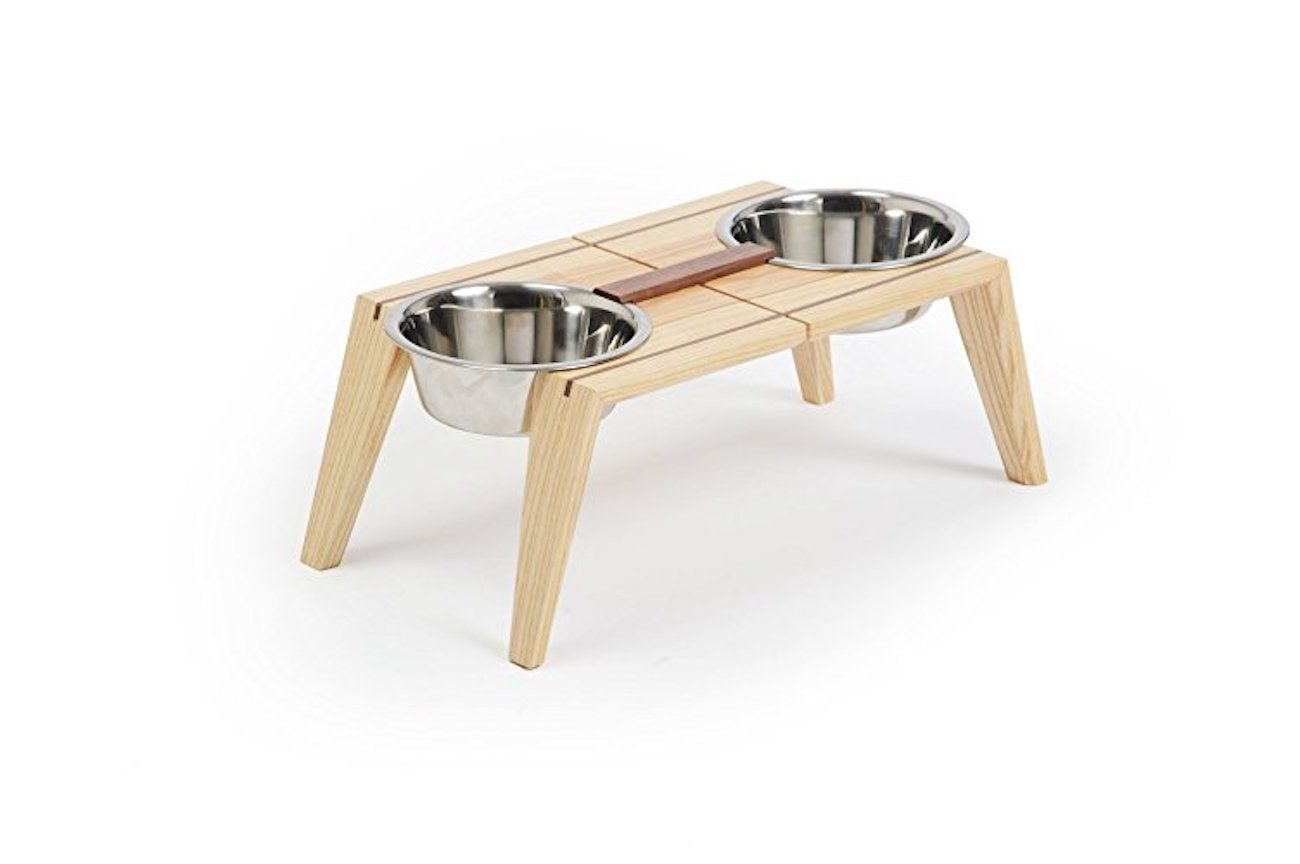 Bottoms Up Pet Dish Set