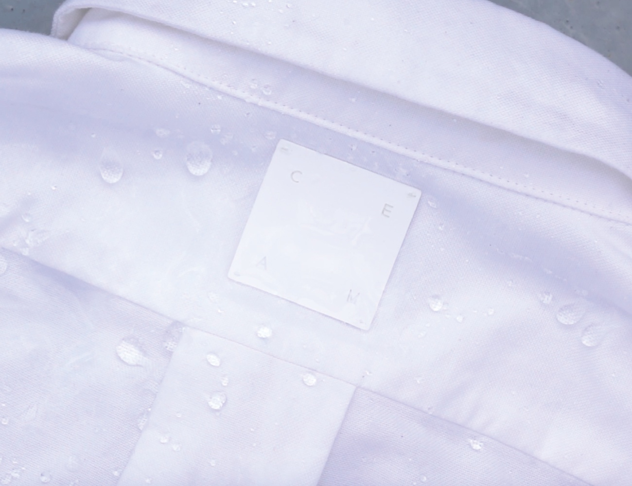 CEAM – Water-Repellent Oxford Shirt Collection w/100% Cotton