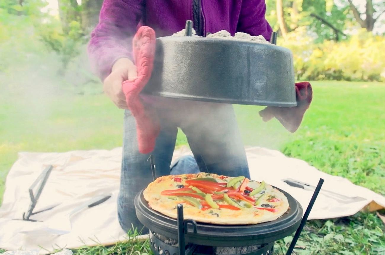 CampMaid Outdoor Cooking System