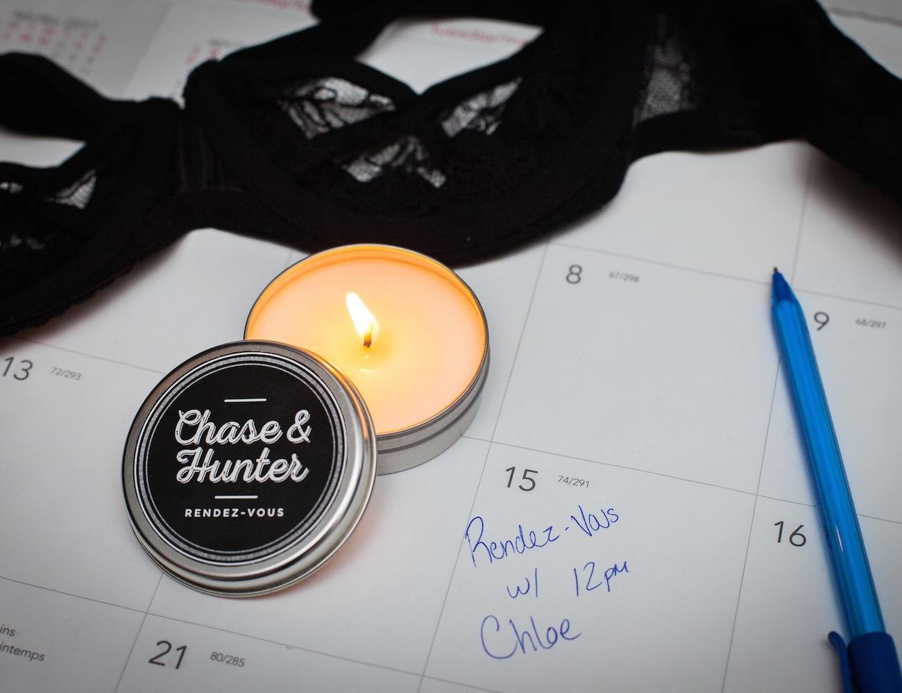 Chase & Hunter Candles – Tools for Men to Impress Her