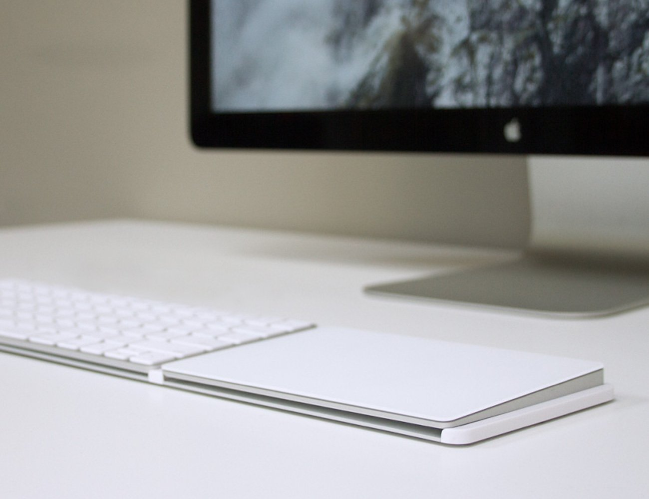Clique2 Attachment Surface for Apple Keyboard and Trackpad