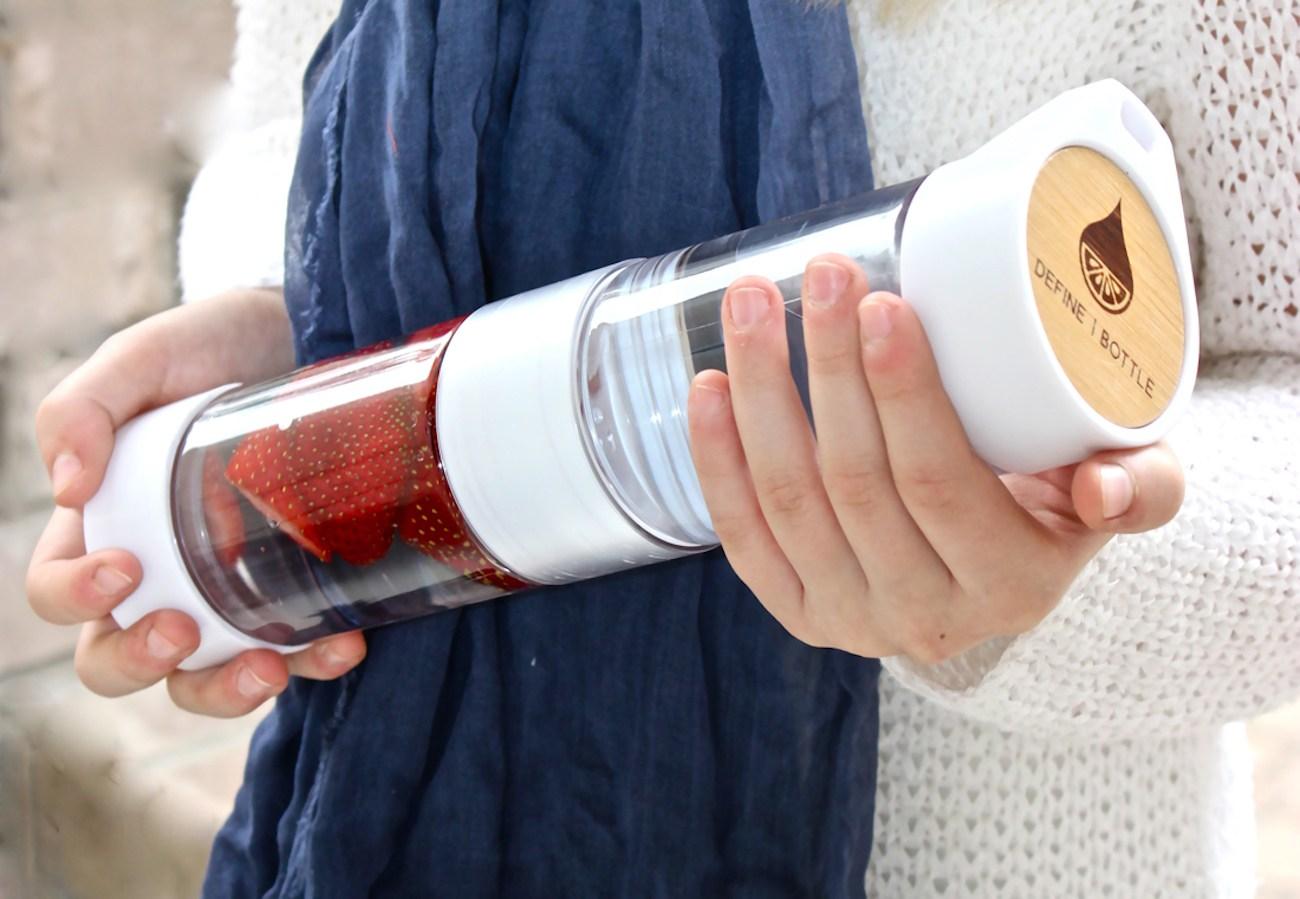 Define Bottle Twist Top Fruit Infuser