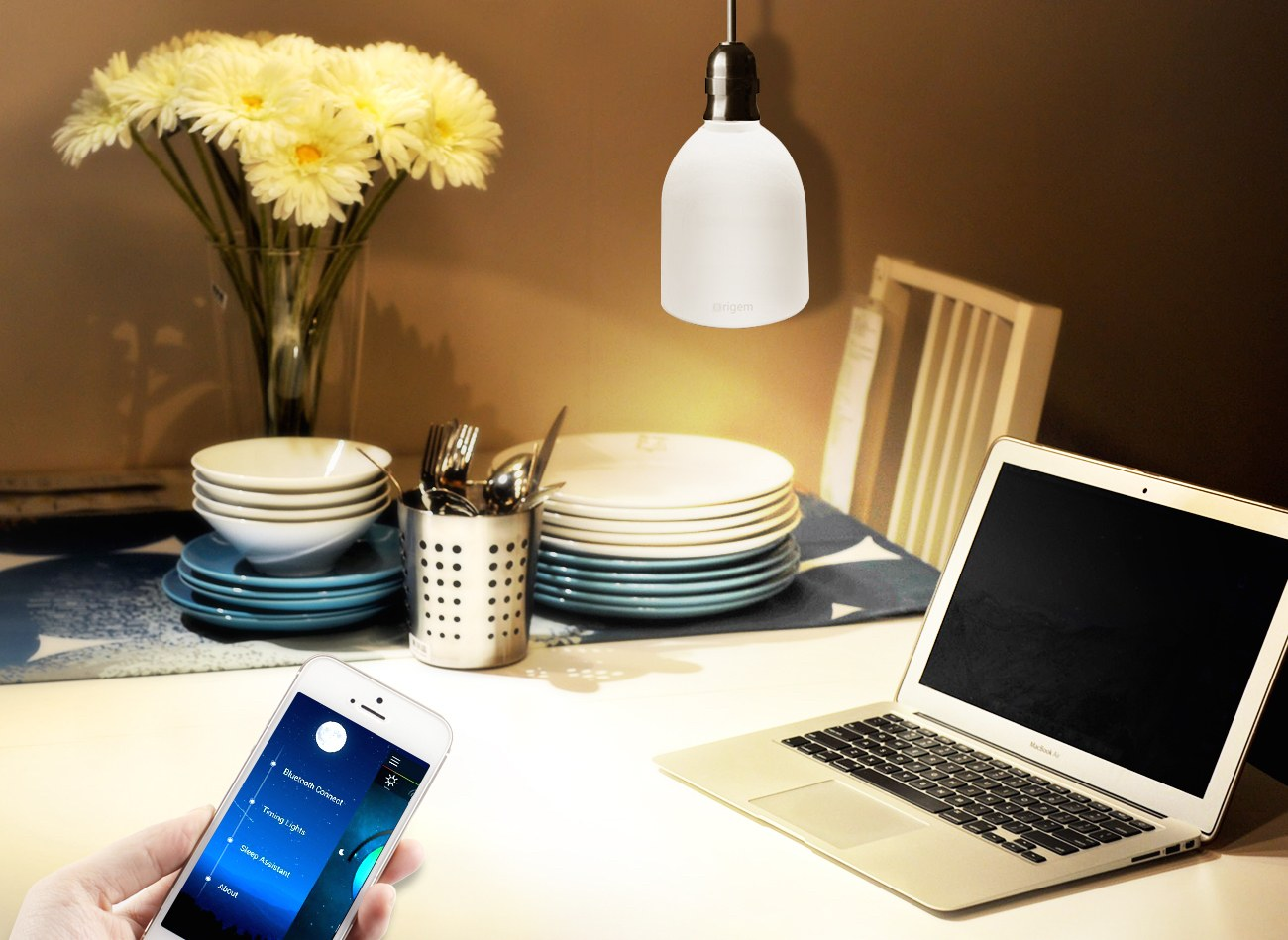 E27 LED Light Bulb Bluetooth Speaker