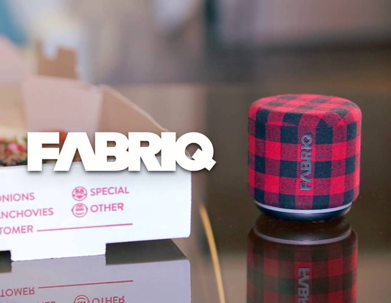 FABRIQ Wireless Smart Speaker with Amazon Alexa