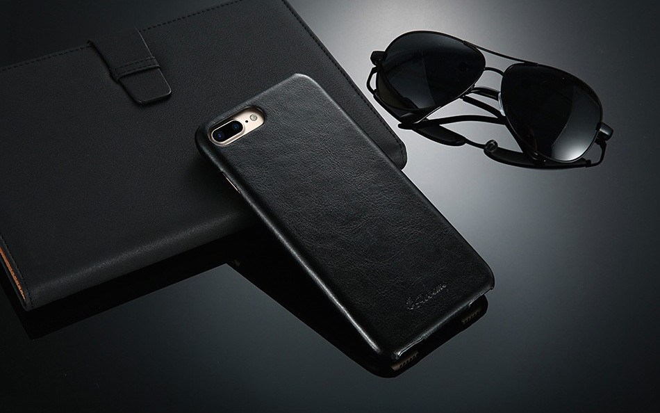 FLOVEME Vintage Flip Leather iPhone Case