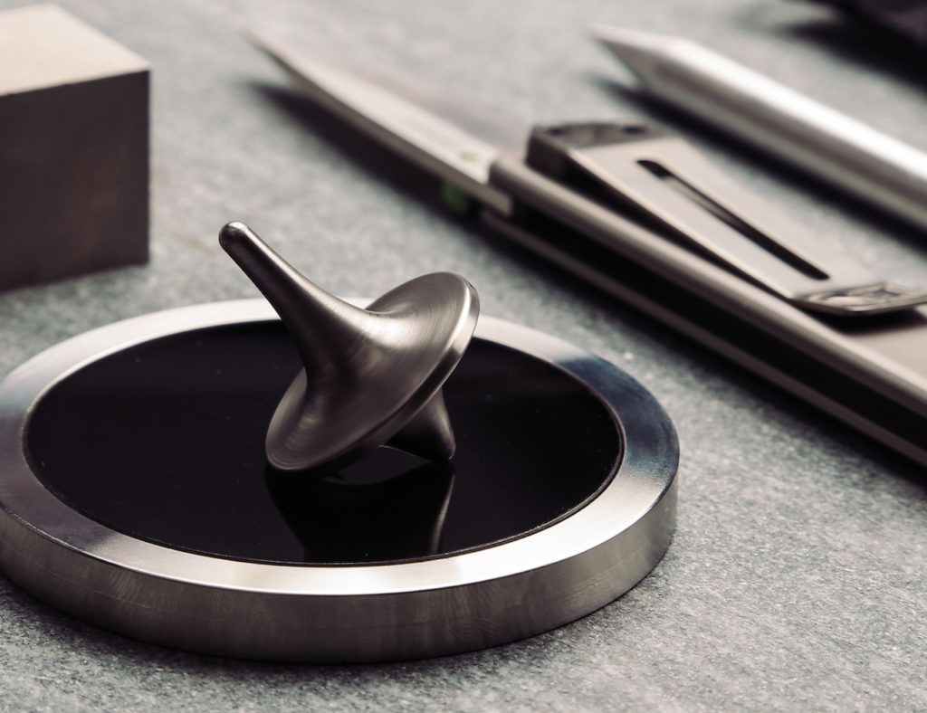 ForeverSpin is a perfect desktop accessory
