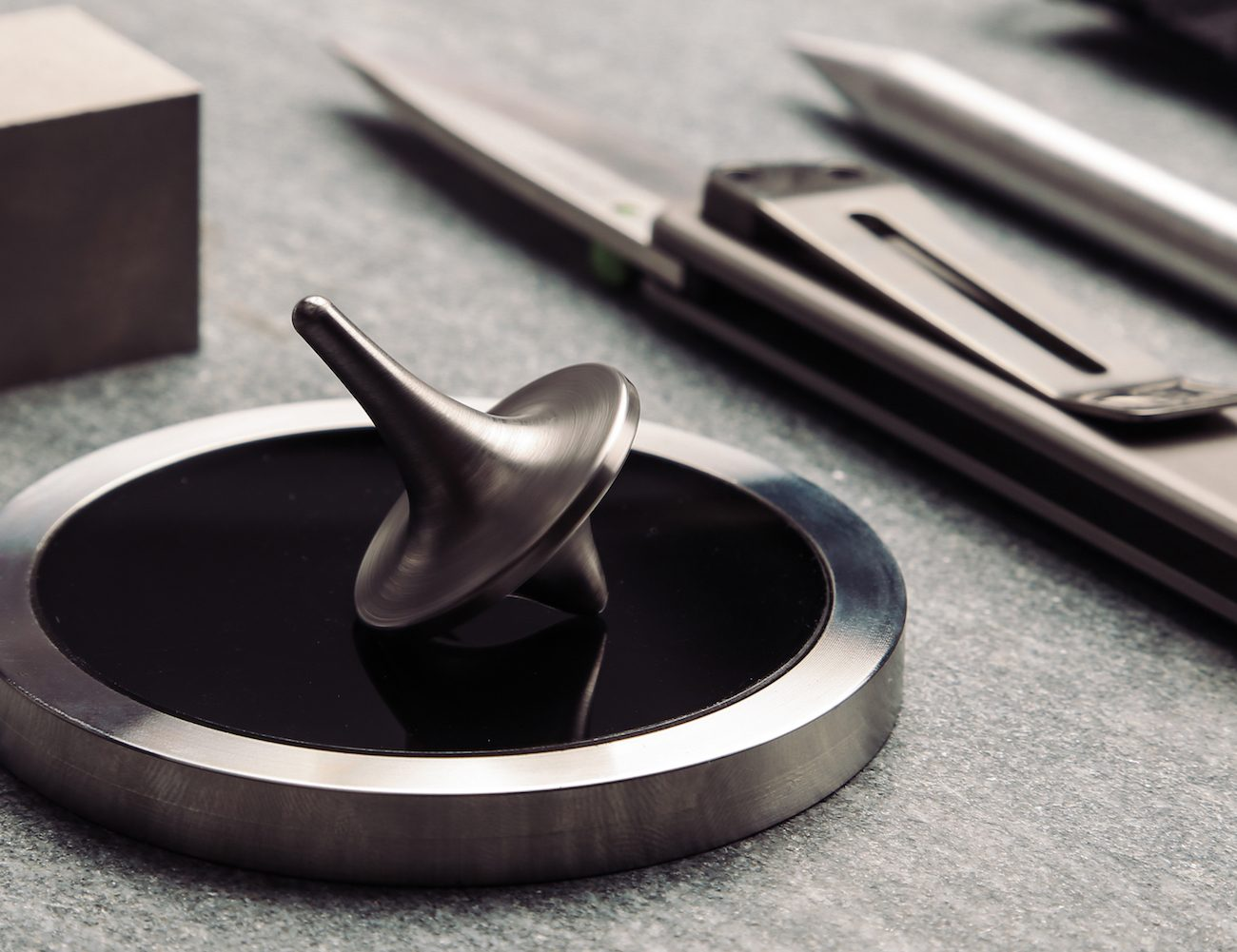 ForeverSpin Metal Spinning Tops