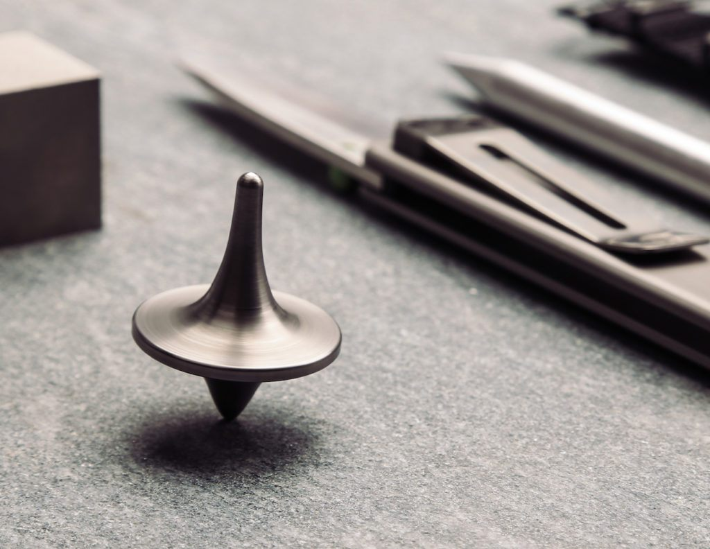 ForeverSpin is a new kind of spinning tops