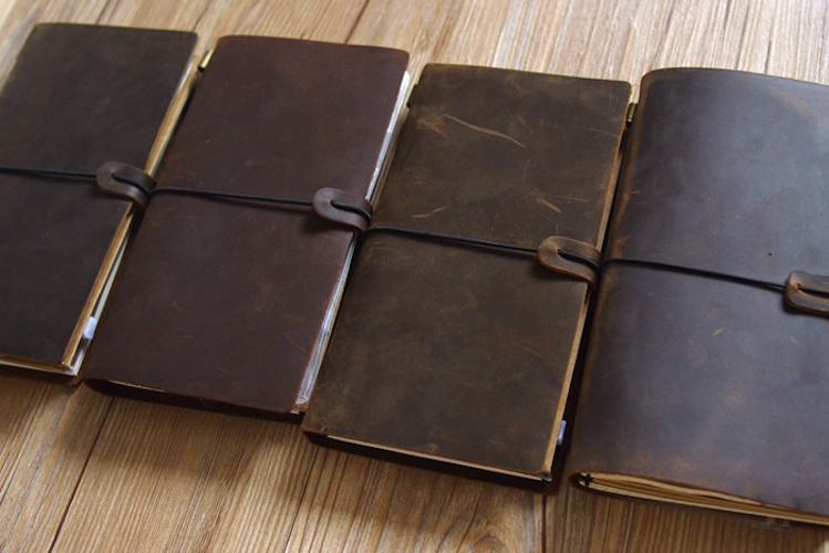 Handmade Leather Traveler's Notebook