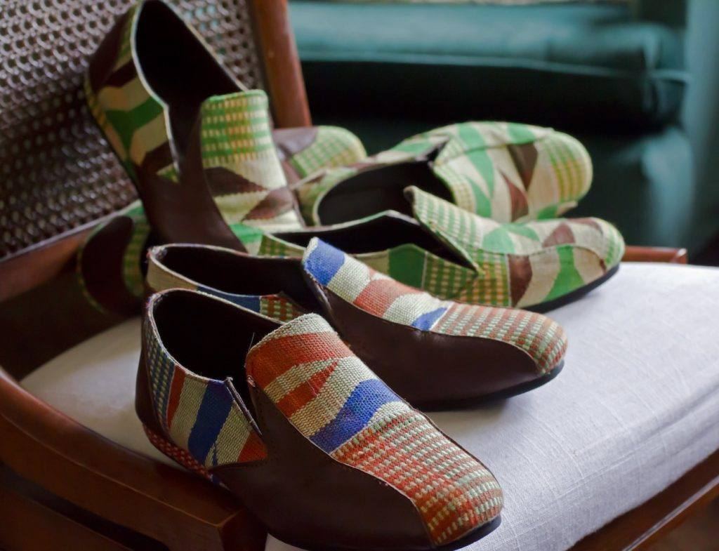 Exquisite Ghanaian Handcrafted Footwear