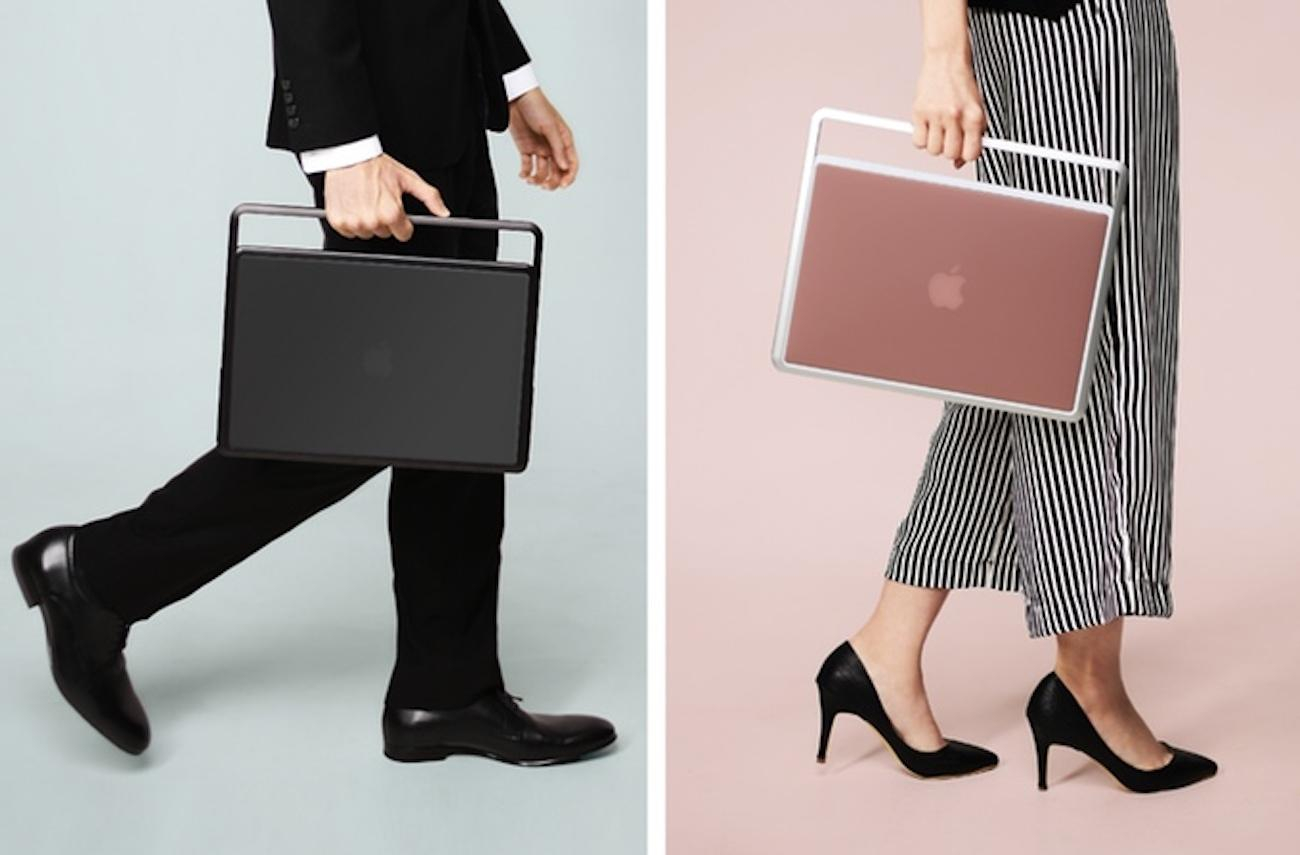 LIFT MacBook Stand and Case by ZENLET