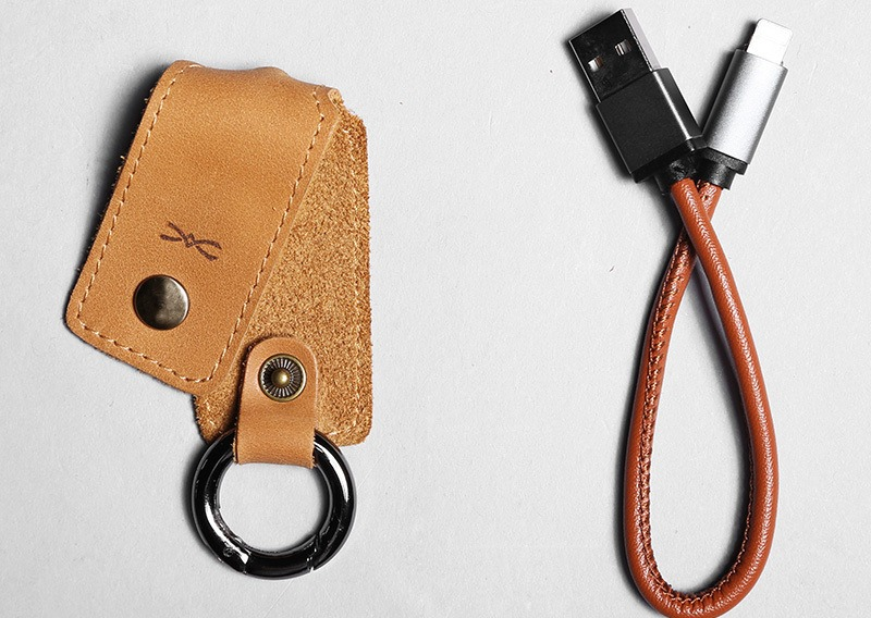 Leather Fast Charging USB Cable