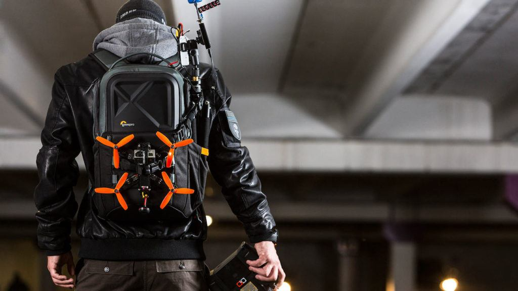 drone backpack for two drones