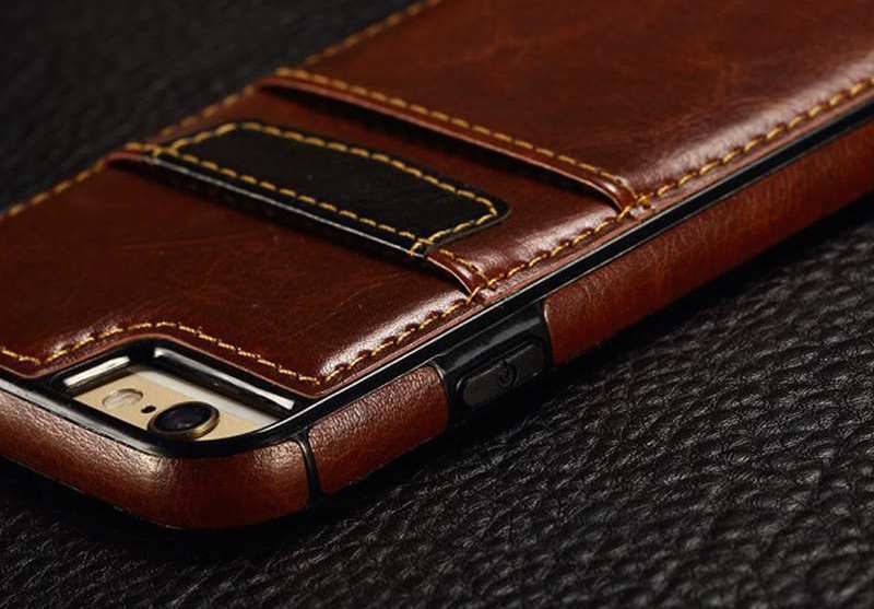 Luxury Back Cover For iPhone With Card Slot