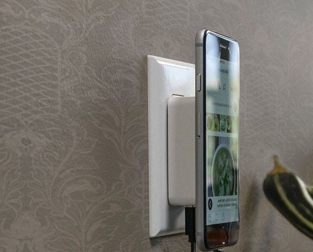 MagicMount Wall Charger for Smartphones by Scosche loading=