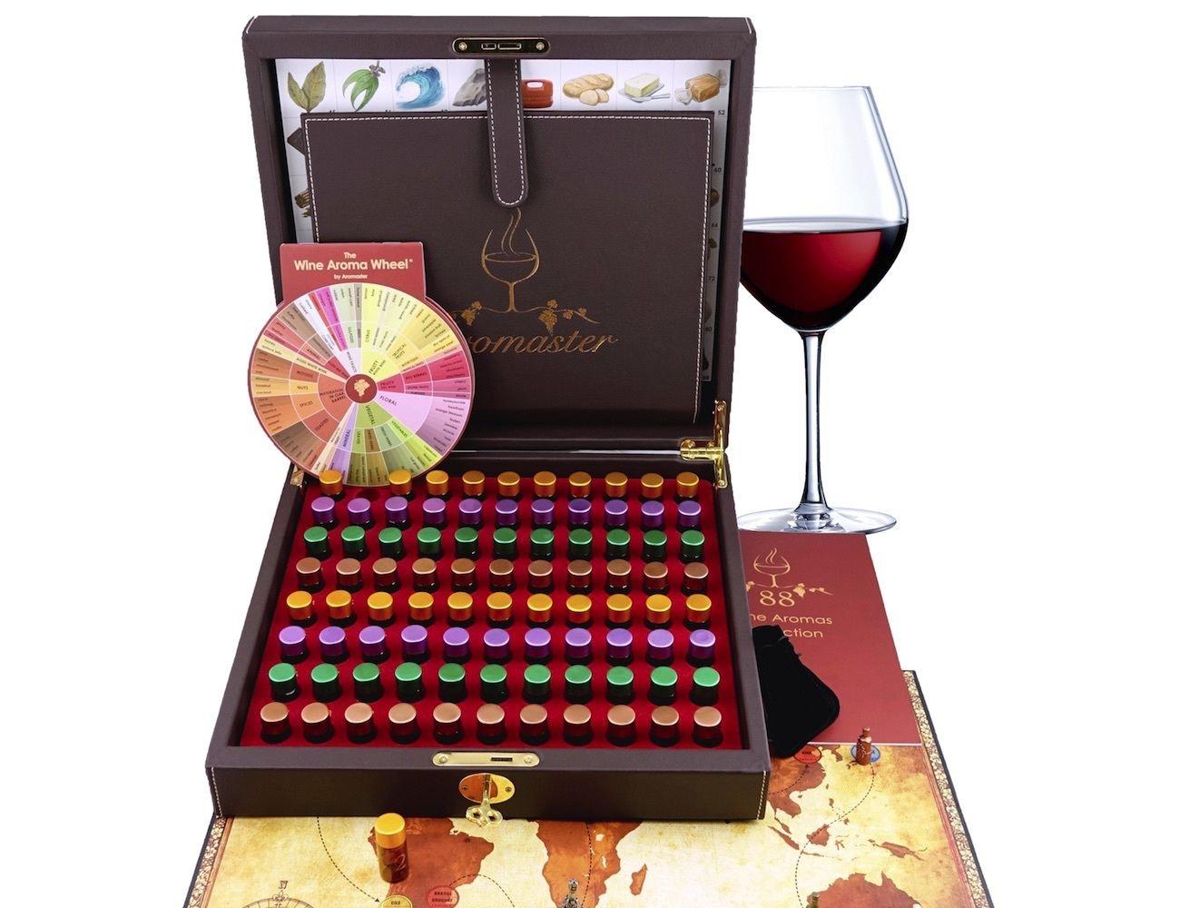 Master Wine Aromas Tasting Kit