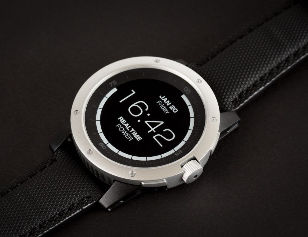 sleek smartwatch
