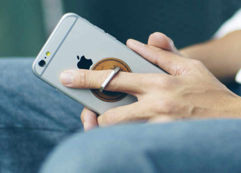 Metal Finger Ring Smartphone Holder