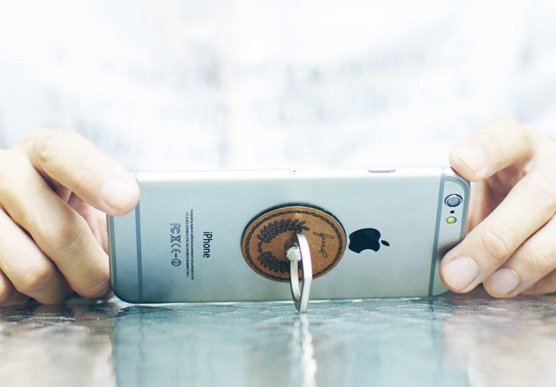 Metal Finger Ring Smartphone Holder