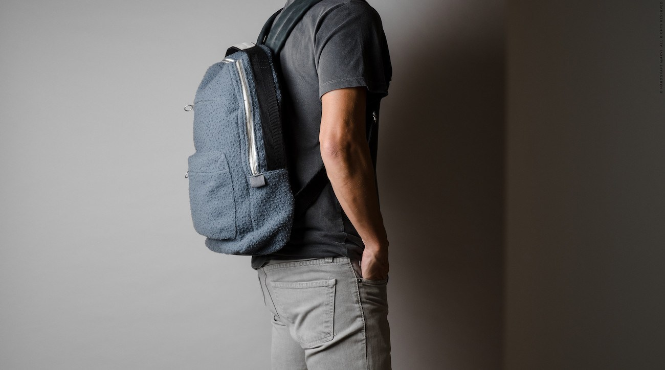 Misfit+Wool+Backpack+By+Hard+Graft