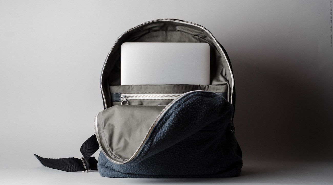 Misfit Wool Backpack by Hard Graft