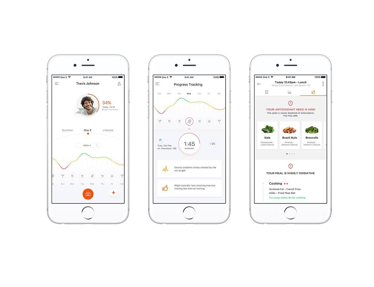 One X – Track your Health in the palm of your hand
