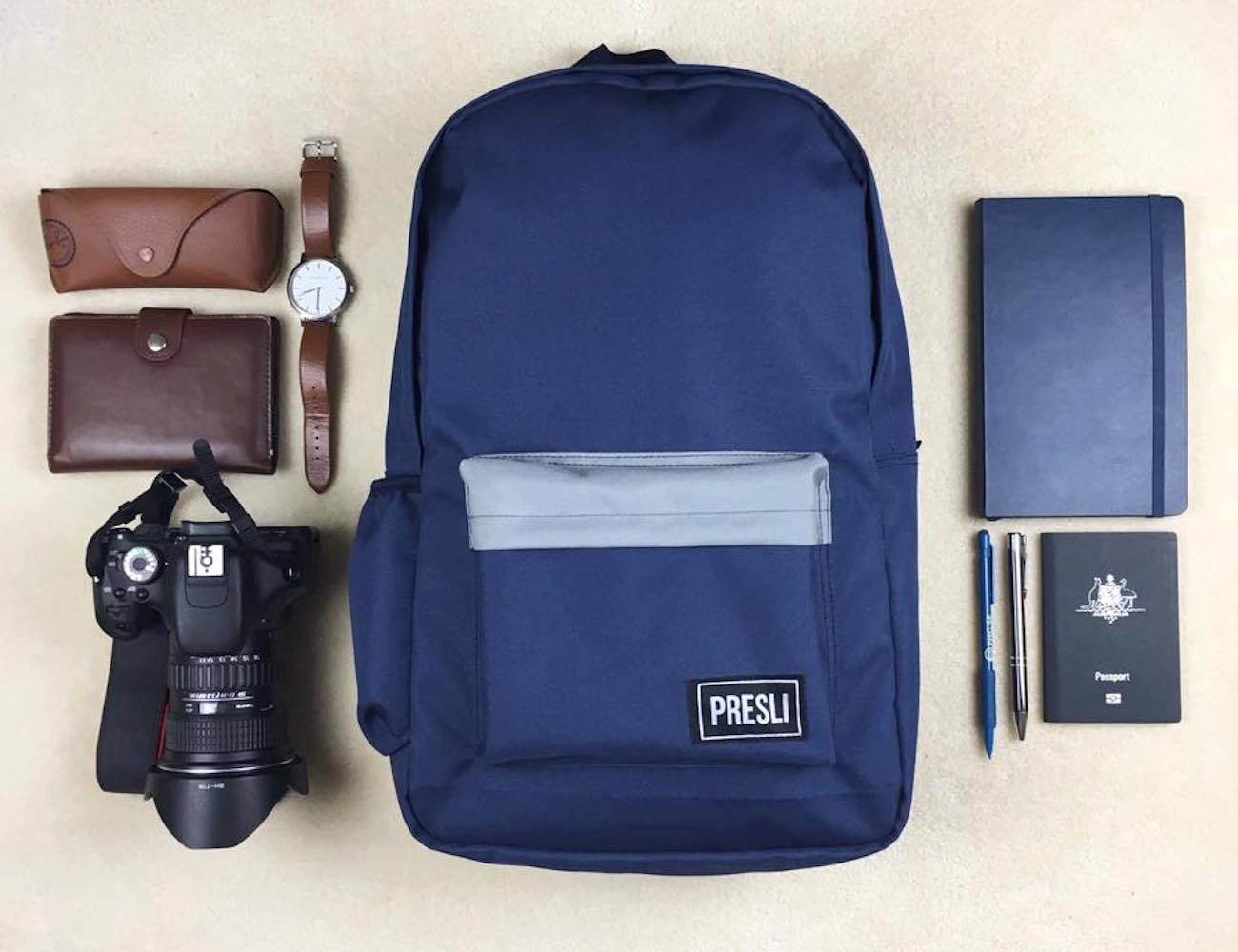 Presli – The Smartest Anti-Theft Backpack