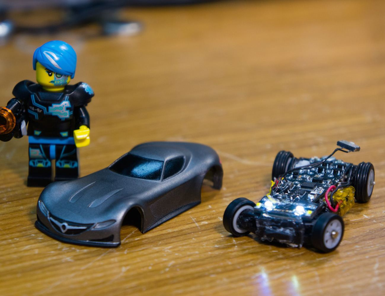 World's Smallest Smartphone Controlled Car