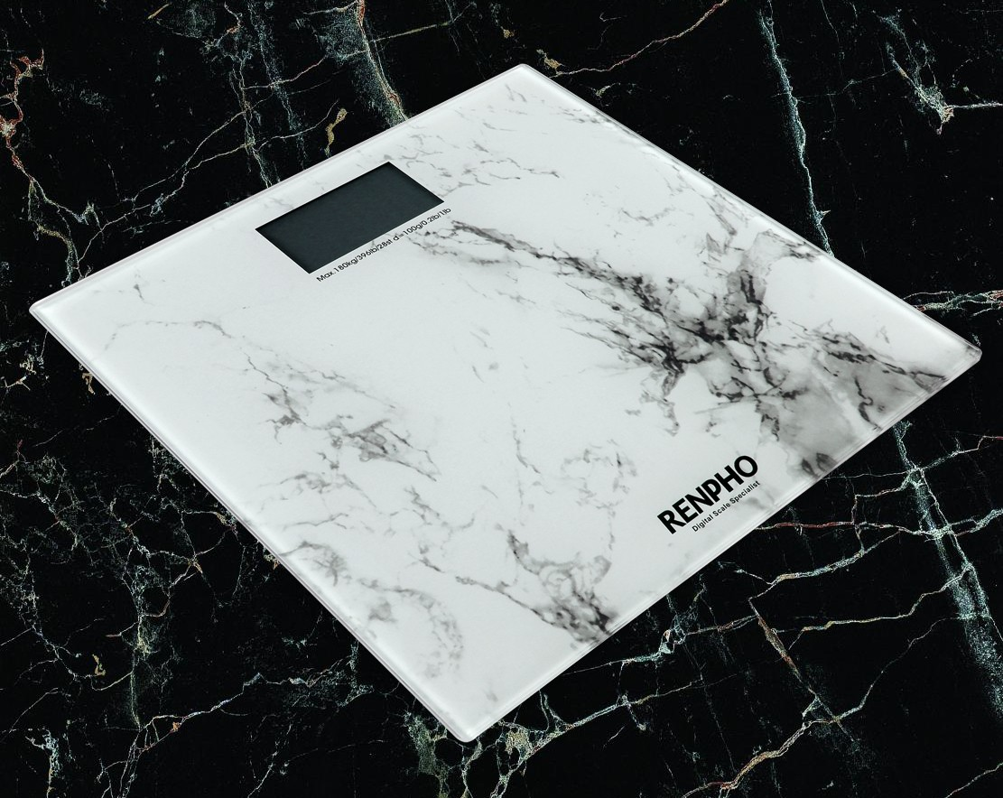 RENPHO Marble Pattern Digital Bathroom Scale