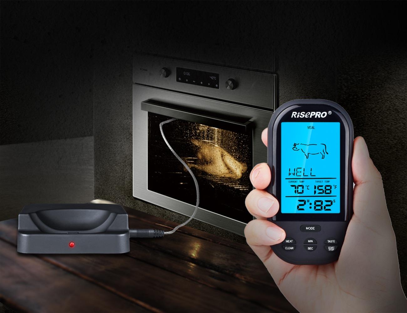 RISEPRO – Wireless Food Thermometer