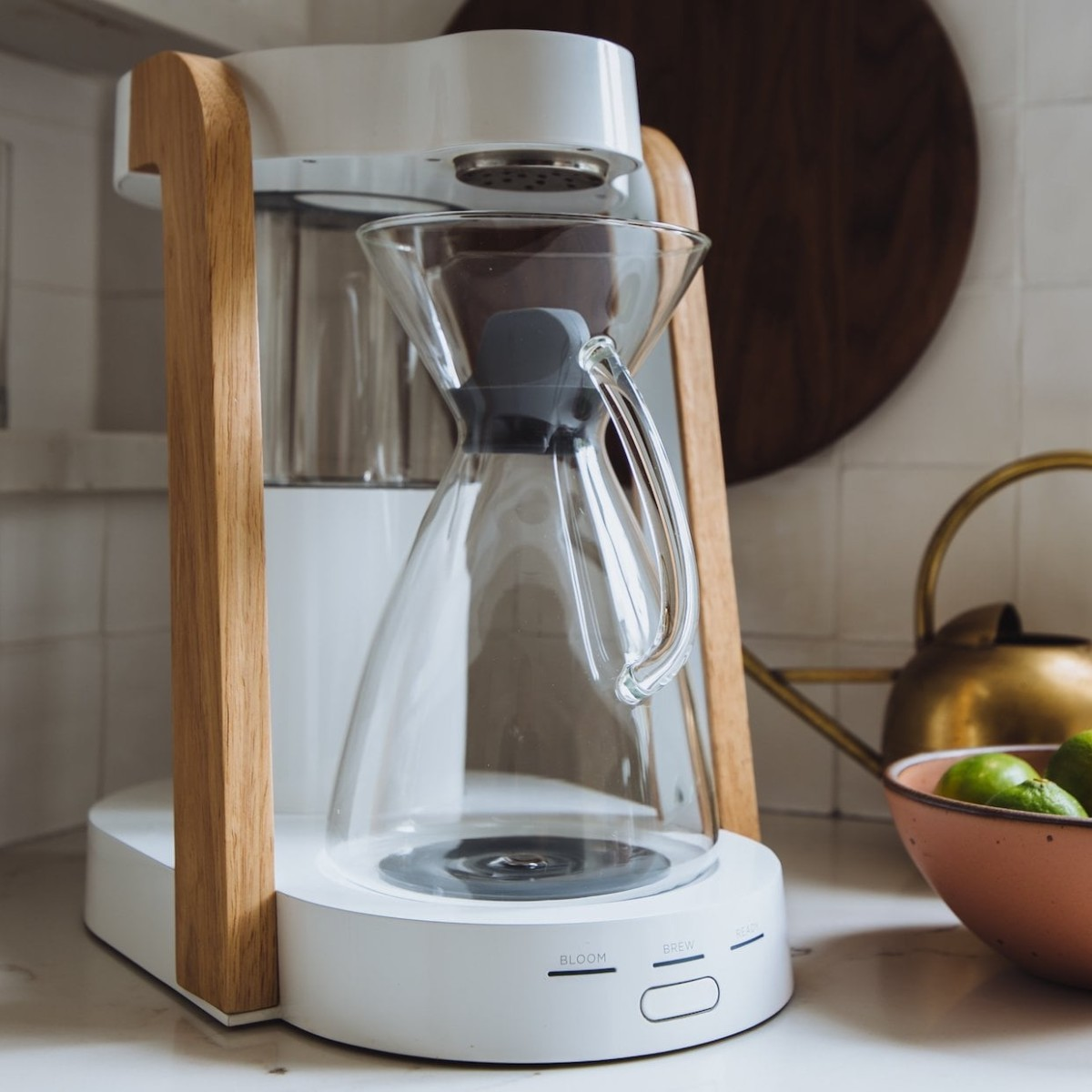 Ratio Eight Coffee Brewer makes an incredible cup of joe every time