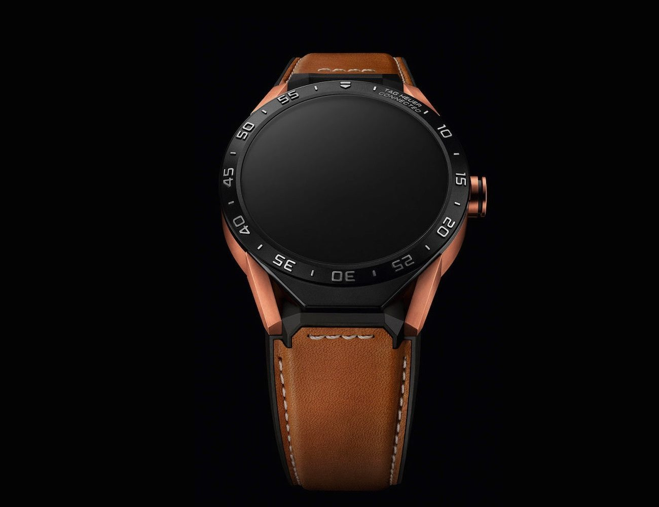 Rose Gold Connected Watch by Tag Heuer » Gadget Flow
