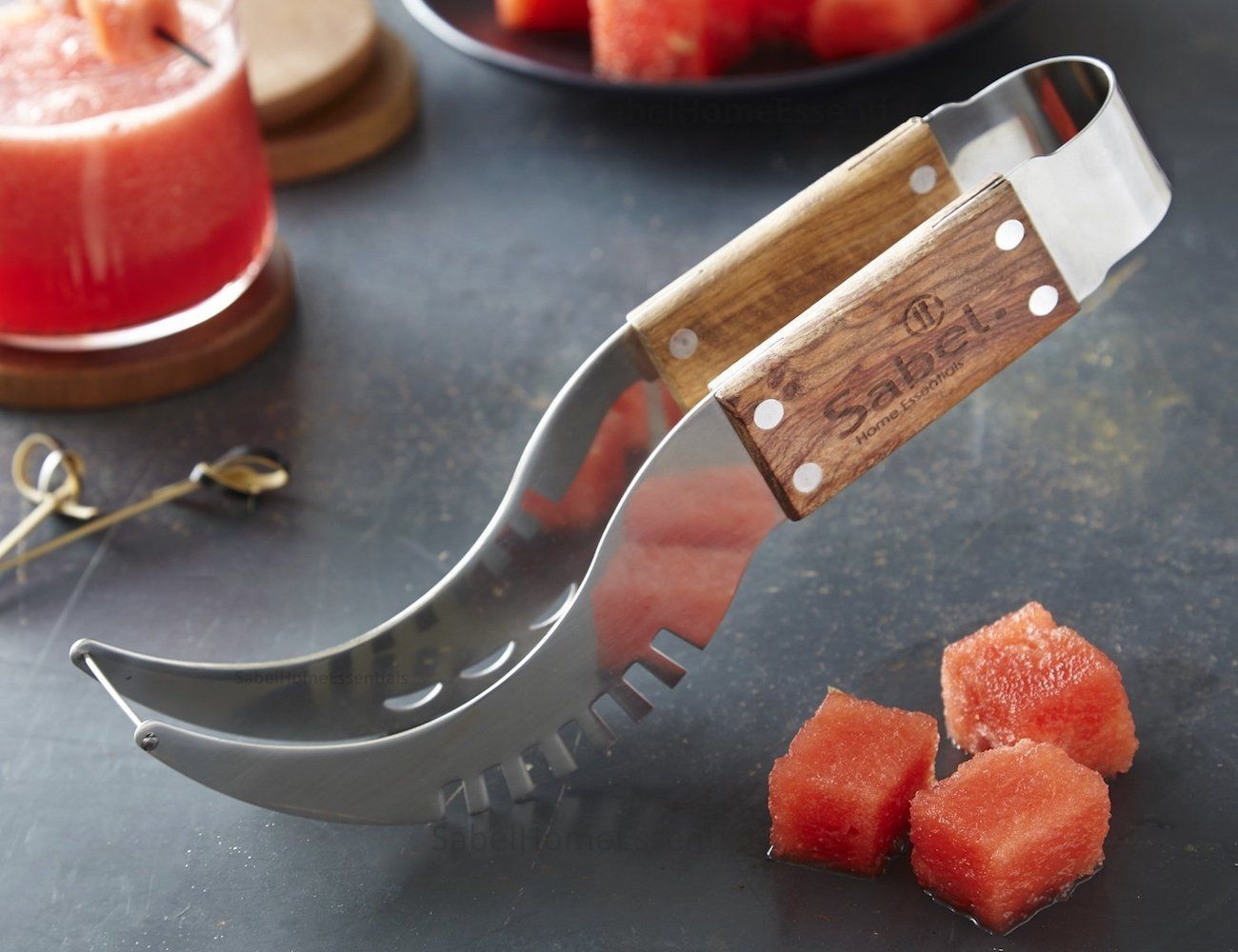 Sabel+Wood+Watermelon+Slicer