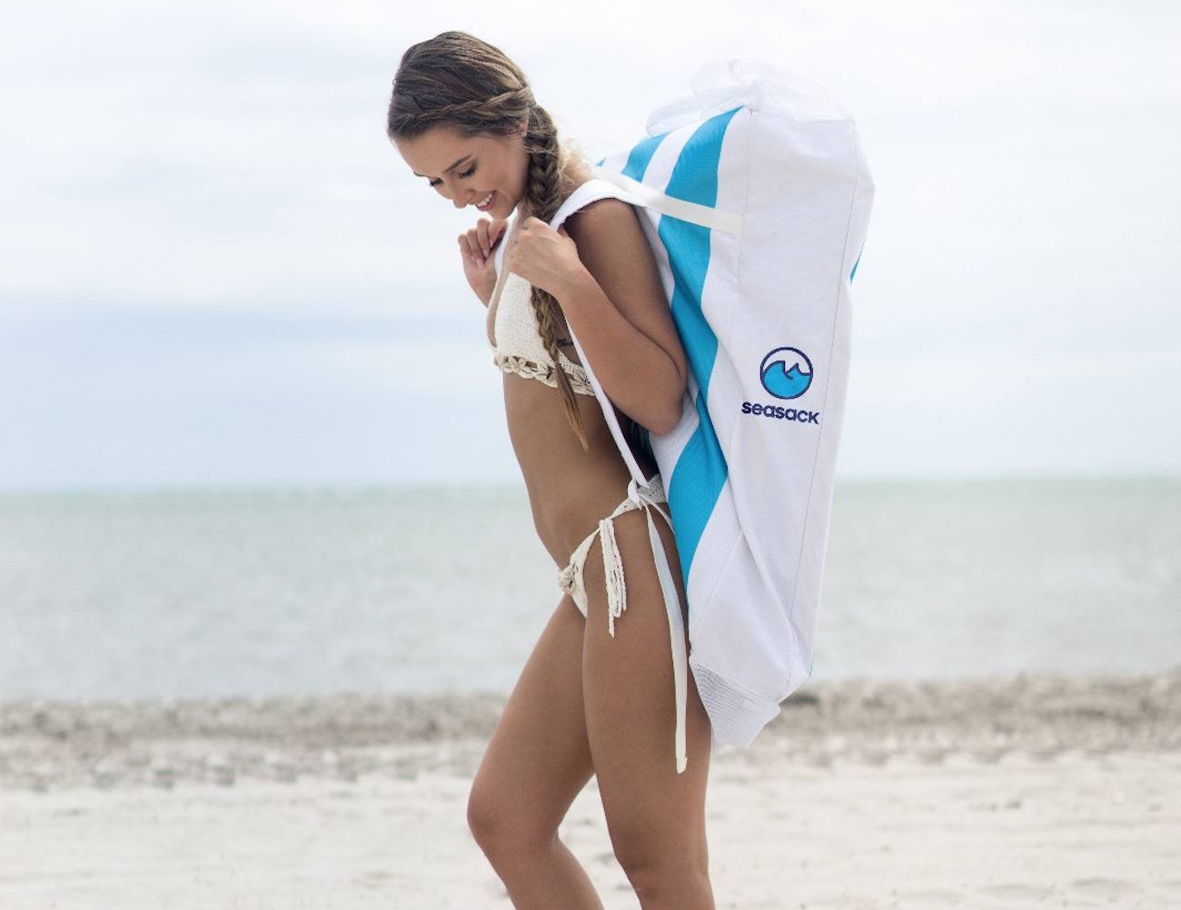 SeaSack – A Beach Chair Backpack