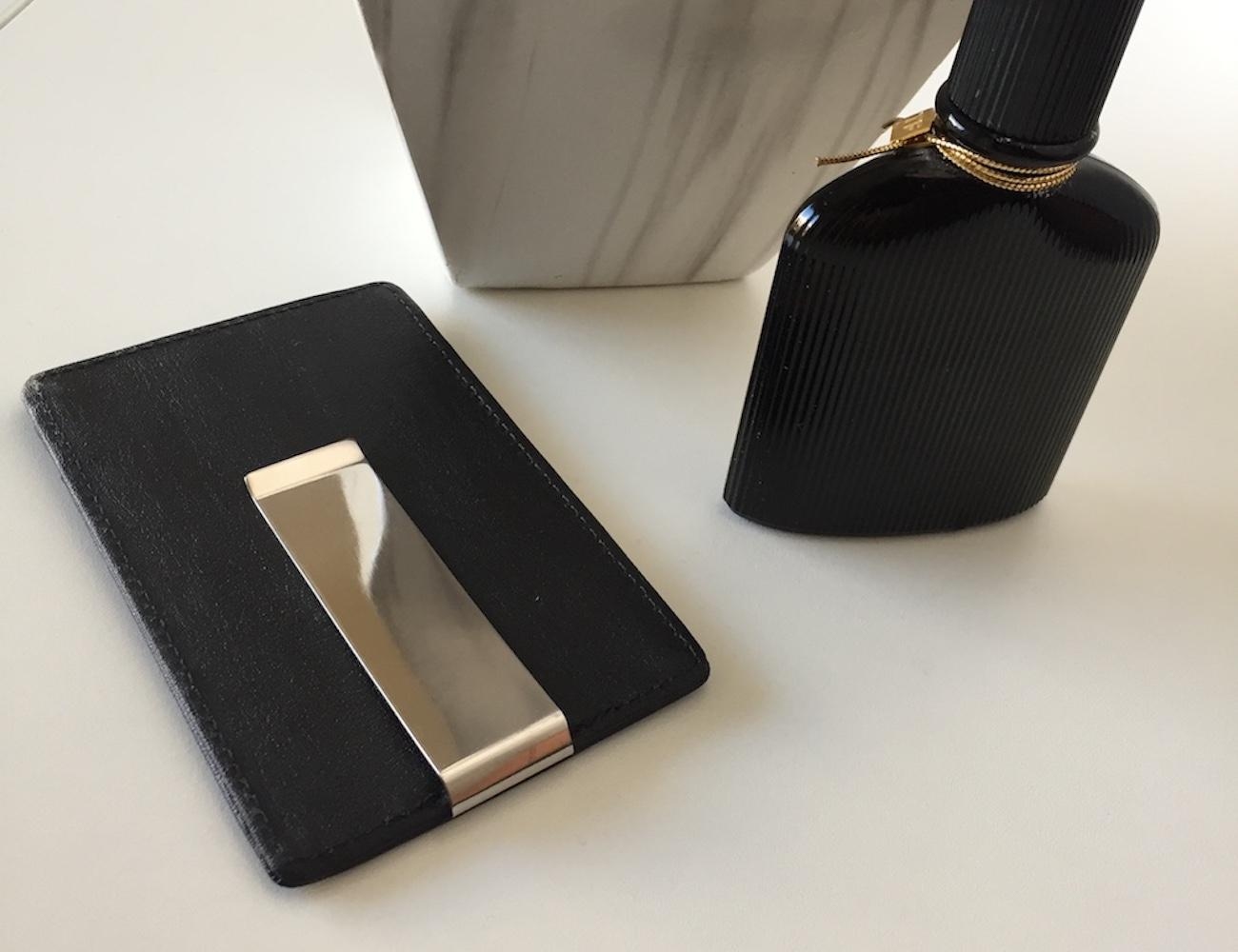 Slim Card Holder by Gino Bryant