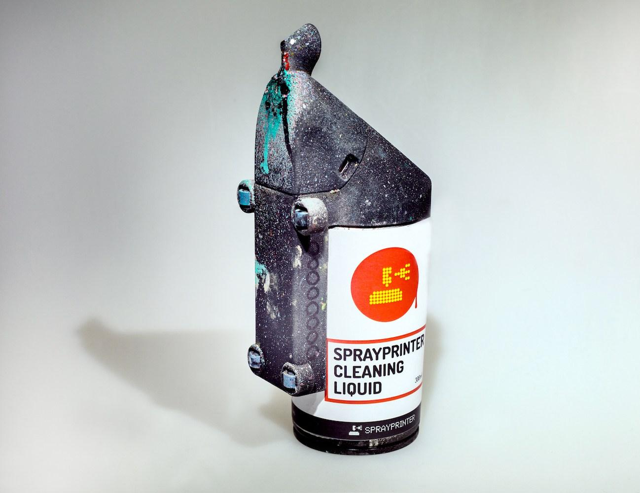 SprayPrinter – Smart Spray Paint Technology