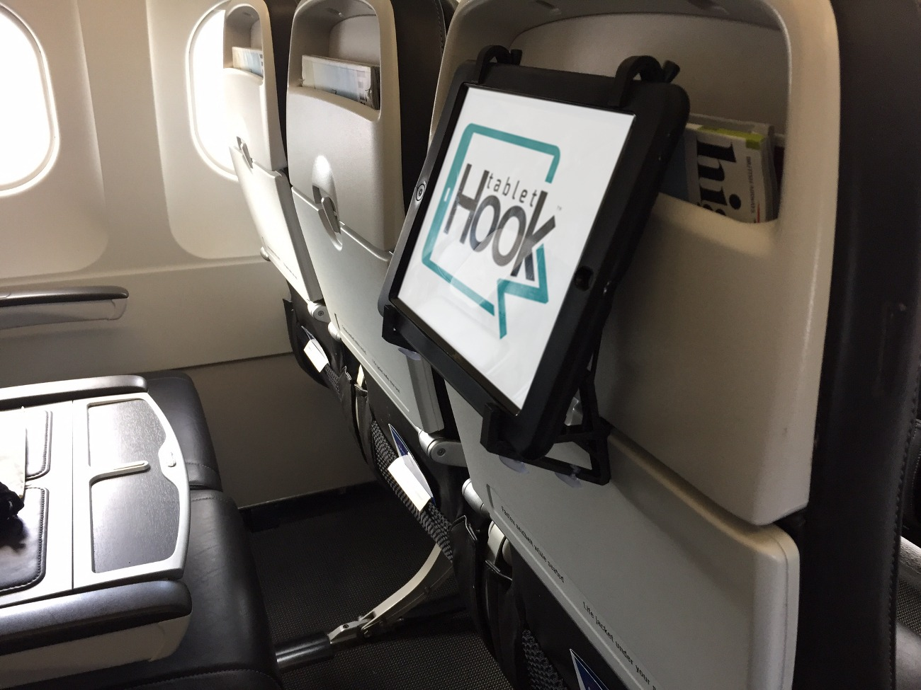 TabletHookz – Create Your Own Seatback Entertainment