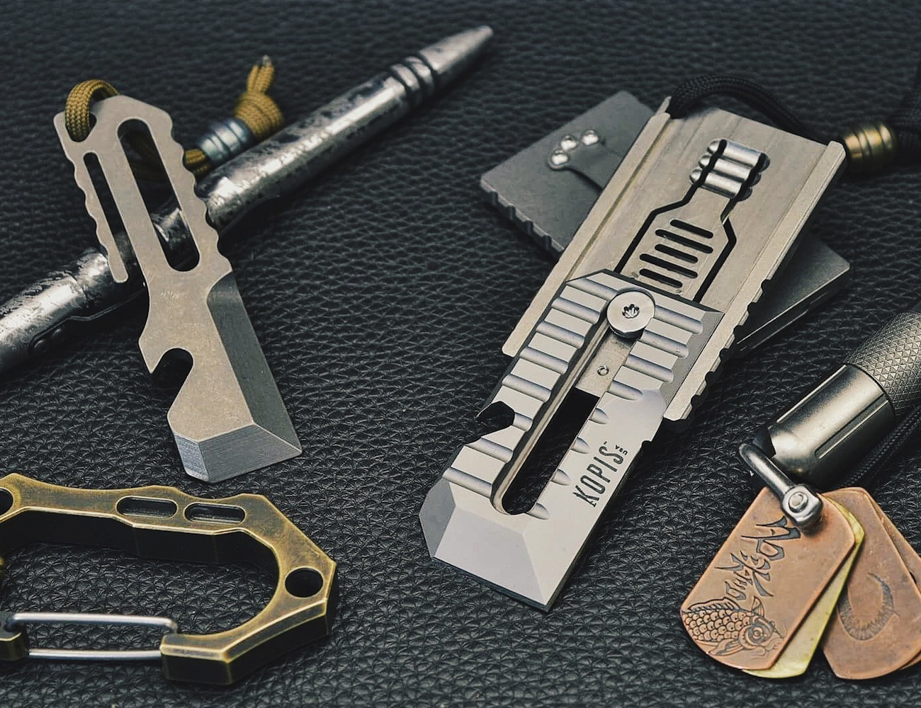 The STK Multi-Tool – Sliding Tool & Knife for Every Day Carry