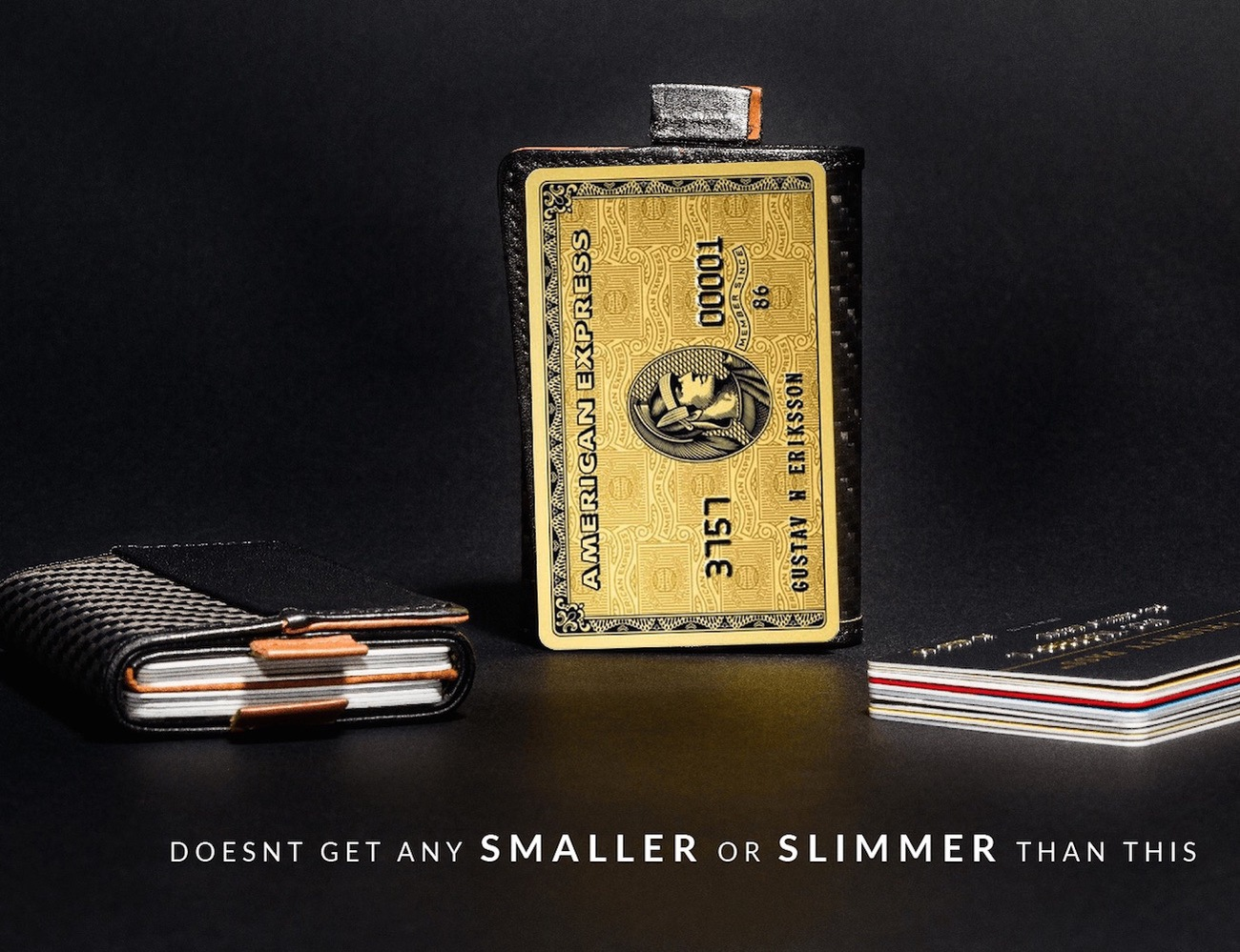 The World's First Speed Wallet Now in Carbon Fiber